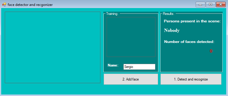 Face Detection And Recognition in c# with source code