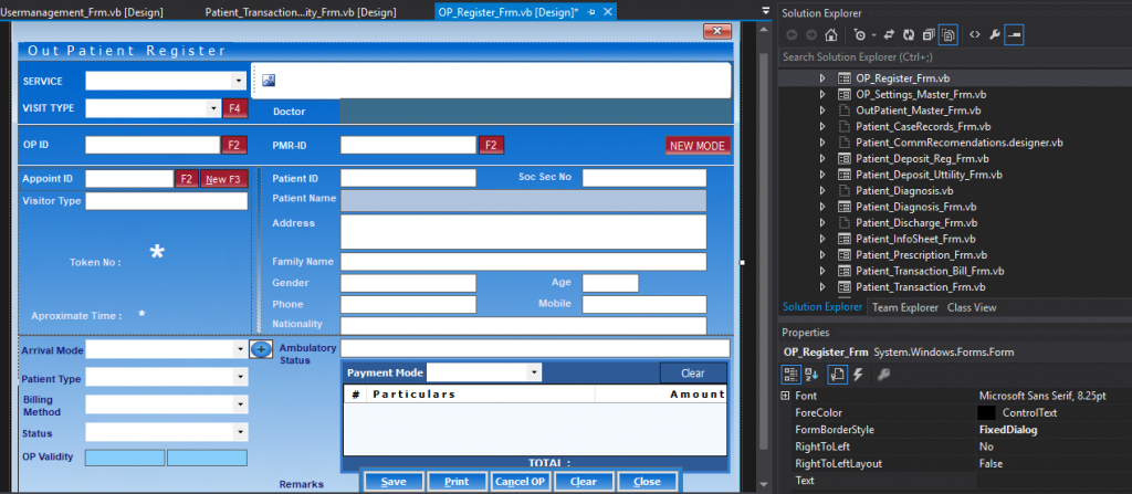 Hospital management System ERP open source Free Download